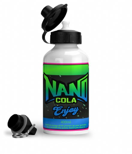 Nano Cola Aluminium Sports Water Bottle Inspired By Overwatch